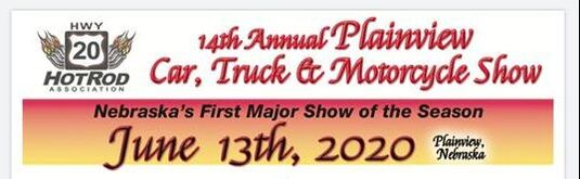 Highway 20 HotRod Association Car Show June 13, 2020